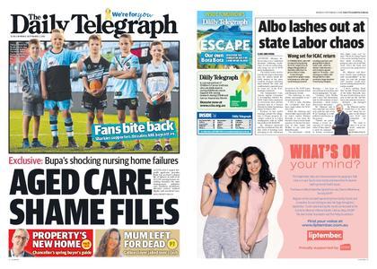 The Daily Telegraph (Sydney) – September 02, 2019