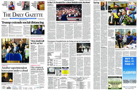 The Daily Gazette – March 30, 2020