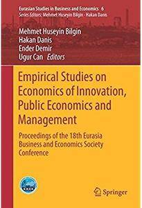 Empirical Studies on Economics of Innovation, Public Economics and Management [Repost]