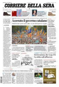 Corriere della Sera - 22 Ottobre 2017