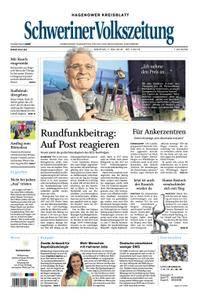 Schweriner Volkszeitung Hagenower Kreisblatt - 07. Mai 2018