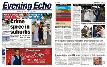 Evening Echo – August 03, 2018