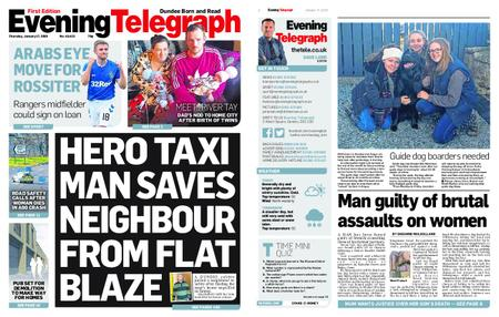 Evening Telegraph First Edition – January 17, 2019