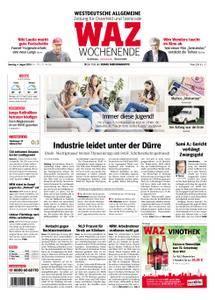 WAZ Westdeutsche Allgemeine Zeitung Oberhausen-Sterkrade - 04. August 2018