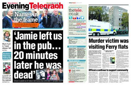 Evening Telegraph First Edition – October 23, 2017