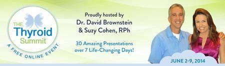 Suzy Cohen - David Brownstein - The Thyroid Summit 2014 [repost]