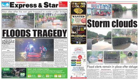 Express and Star Sandwell Edition – May 29, 2018