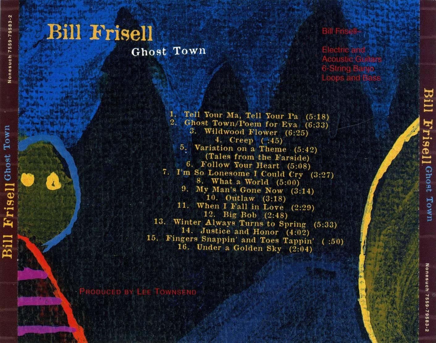 Bill frisell ghost town pdf