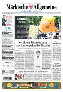Märkische Allgemeine Luckenwalder Rundschau - 14. Juli 2018