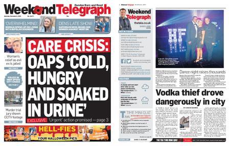 Evening Telegraph First Edition – November 02, 2019