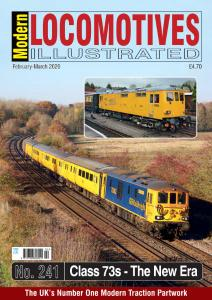 Modern Locomotives Illustrated - Issue 241 - February-March 2020