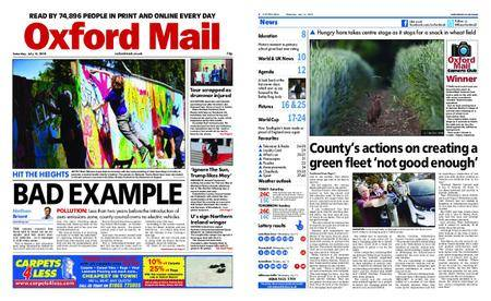 Oxford Mail – July 14, 2018