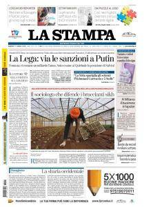 La Stampa Torino Provincia e Canavese - 17 Aprile 2018