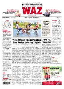 WAZ Westdeutsche Allgemeine Zeitung Oberhausen-Sterkrade - 07. August 2018
