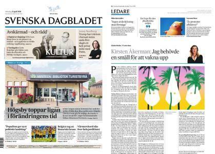 Svenska Dagbladet – 15 juli 2018