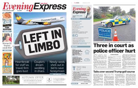 Evening Express – September 24, 2019