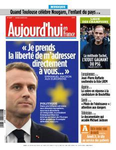 Aujourd'hui en France du Mardi 5 Mars 2019