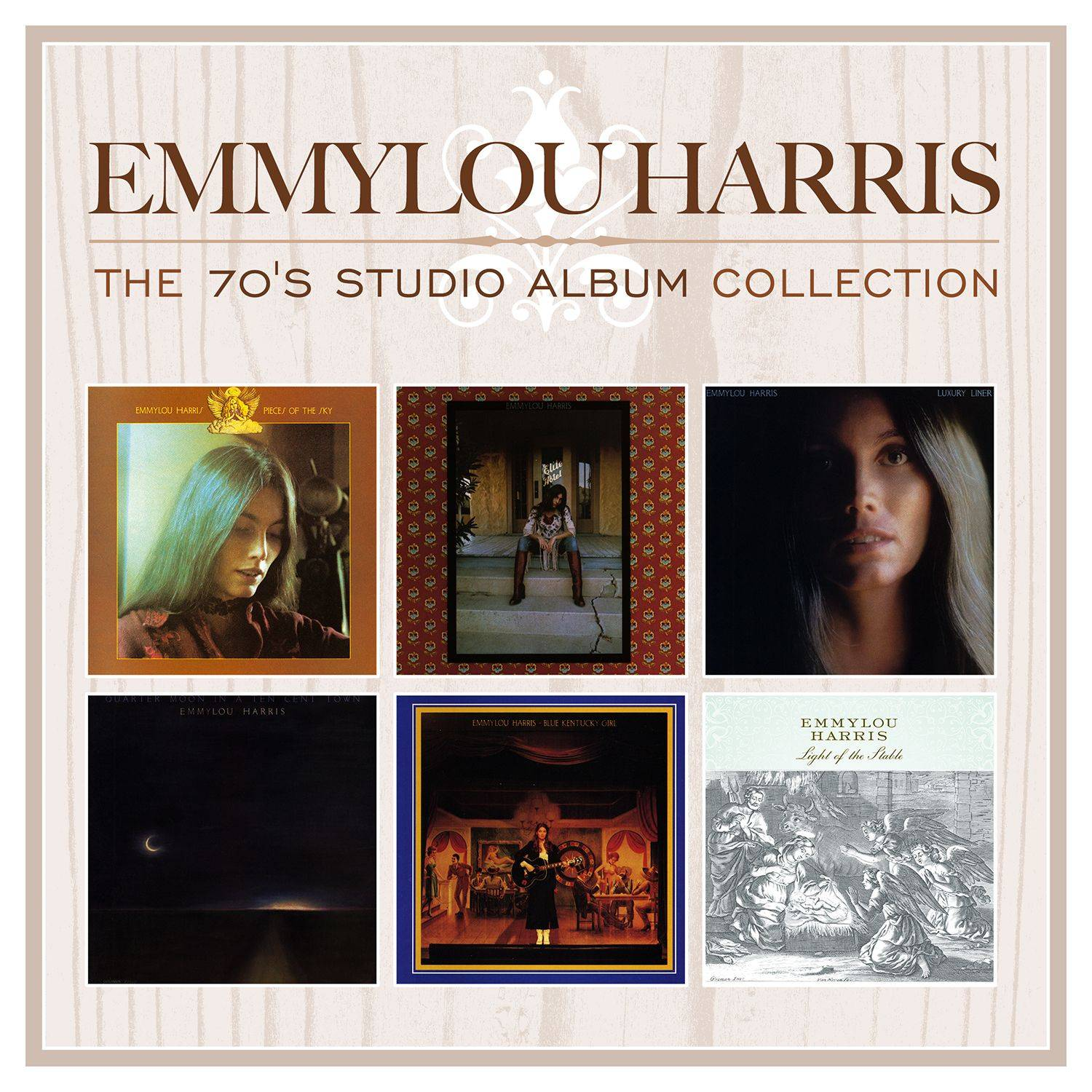 Emmylou Harris - The 70s Studio Album Collection (2014) [Official Digital Download 24bit/192kHz] RE-UP