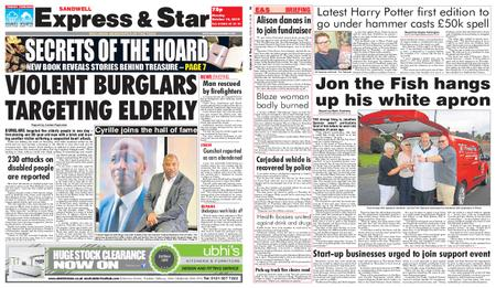 Express and Star Sandwell Edition – October 14, 2019