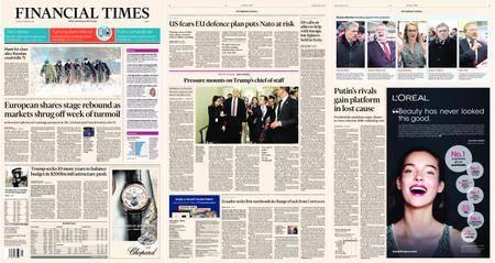 Financial Times Europe – 13 February 2018