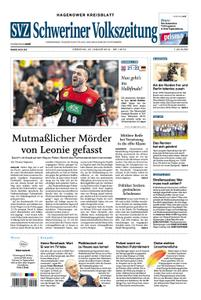 Schweriner Volkszeitung Hagenower Kreisblatt - 22. Januar 2019