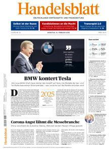 Handelsblatt - 18 Februar 2020