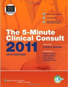 The 5-Minute Clinical Consult 2011, 19th edition