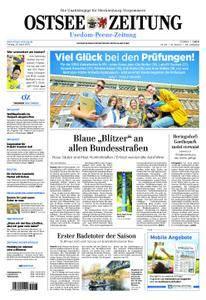 Ostsee Zeitung Wolgast - 20. April 2018
