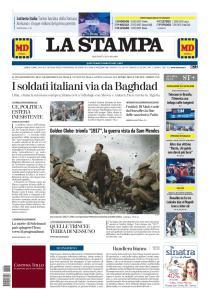 La Stampa Torino Provincia e Canavese - 7 Gennaio 2020