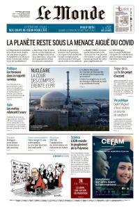 Le Monde du Vendredi 10 Juillet 2020
