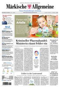 Neue Oranienburger Zeitung - 19. Juli 2018