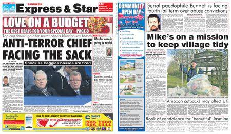 Express and Star Sandwell Edition – February 14, 2018