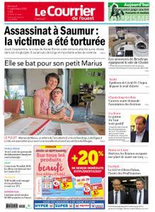 Le Courrier de l'Ouest Cholet – 09 septembre 2020