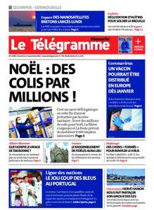 Le Télégramme Ouest Cornouaille – 15 novembre 2020