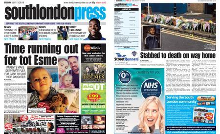 South London Press – May 10, 2019