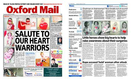 Oxford Mail – February 15, 2018