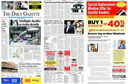 The Daily Gazette – December 19, 2017