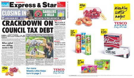 Express and Star Sandwell Edition – July 25, 2019