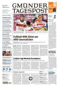 Gmünder Tagespost - 14. Mai 2018