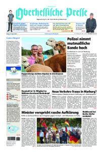 Oberhessische Presse Hinterland - 24. August 2018