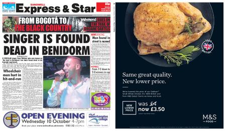Express and Star Sandwell Edition – October 06, 2018