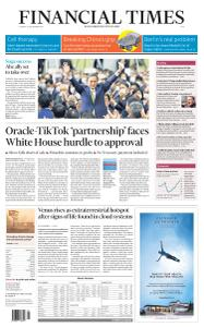 Financial Times Asia - September 15, 2020