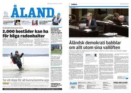 Ålandstidningen – 19 februari 2018
