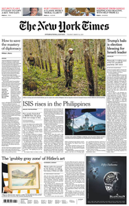 International New York Times - 12 March 2019