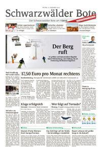 Schwarzwälder Bote St. Georgen, Triberg, Furtwangen - 14. Dezember 2018