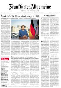 Frankfurter Allgemeine Zeitung - 19 März 2020
