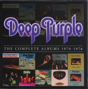 Deep Purple - The Complete Albums 1970-1976 [2013, 10CD, Rhino 8122796348] Re-up