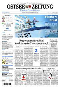 Ostsee Zeitung Wolgast - 03. Juli 2018
