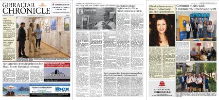 Gibraltar Chronicle – 24 May 2021