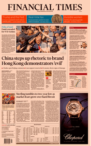 Financial Times Europe – 30 July 2019